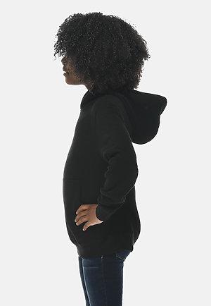 Premium Youth Hoodie BLACK sidew