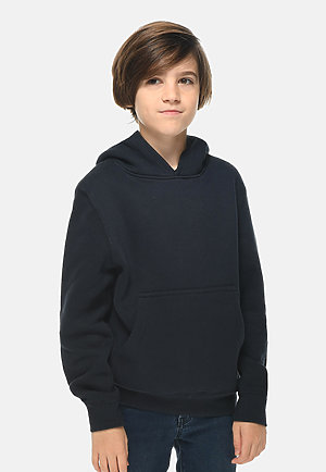 Premium Youth Hoodie NAVY BLUE front