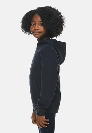 Premium Youth Hoodie NAVY BLUE sidew
