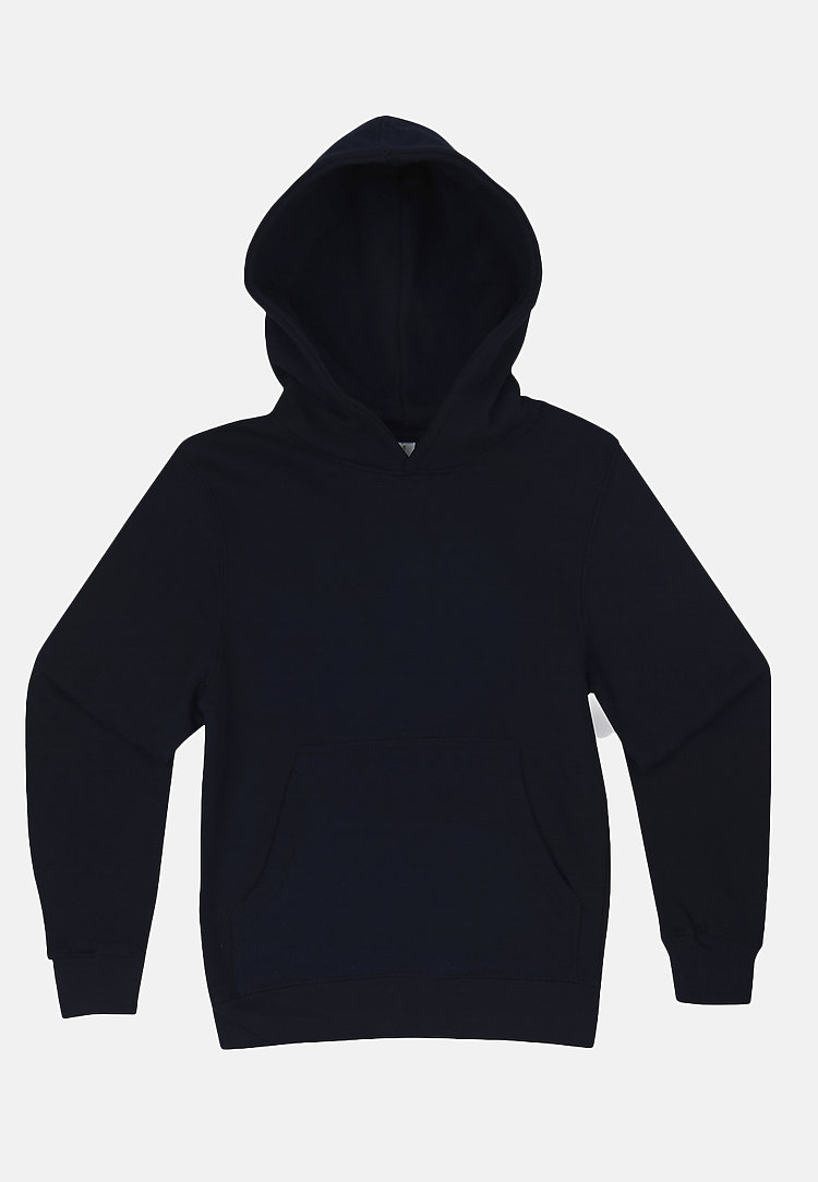 Premium Youth Hoodie NAVY BLUE flat