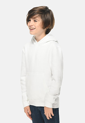 Premium Youth Hoodie WHITE side