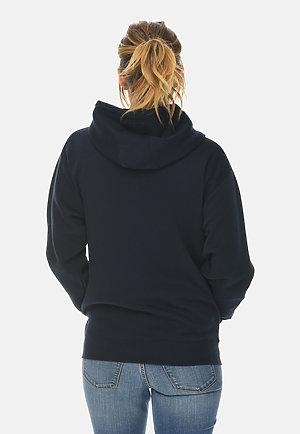 Premium Full Zip Hoodie NAVY BLUE backw