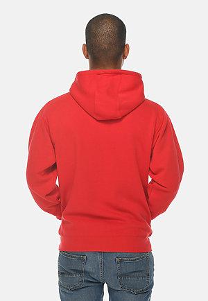 Premium Full Zip Hoodie RED back