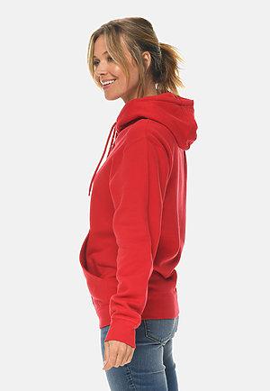 Premium Full Zip Hoodie RED sidew