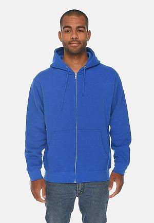 Premium Full Zip Hoodie TRUE ROYAL front