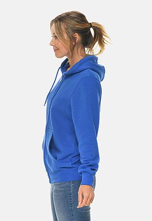 Premium Full Zip Hoodie TRUE ROYAL sidew