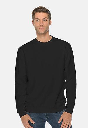 Premium Crewneck Sweatshirt BLACK front
