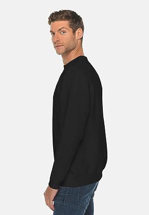 Premium Crewneck Sweatshirt BLACK side