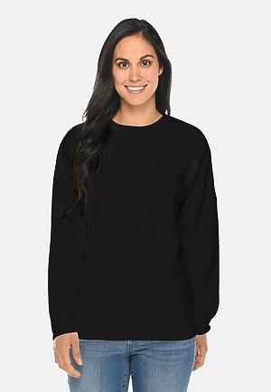 Premium Crewneck Sweatshirt BLACK frontw