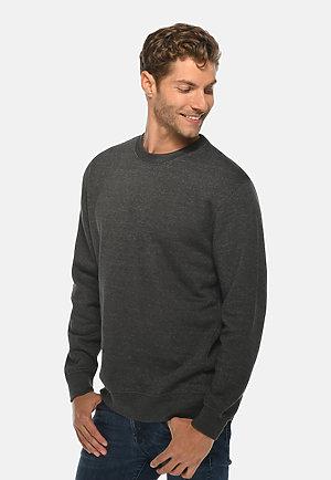 Premium Crewneck Sweatshirt CHARCOAL HEATHER side