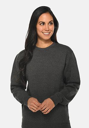 Premium Crewneck Sweatshirt CHARCOAL HEATHER frontw