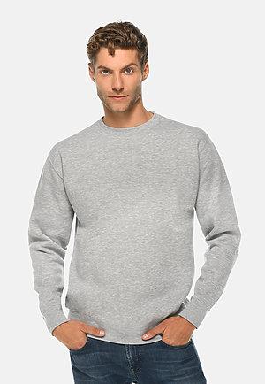 Premium Crewneck Sweatshirt HEATHER GREY front