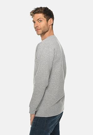 Premium Crewneck Sweatshirt HEATHER GREY side