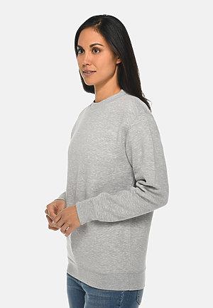 Premium Crewneck Sweatshirt HEATHER GREY sidew