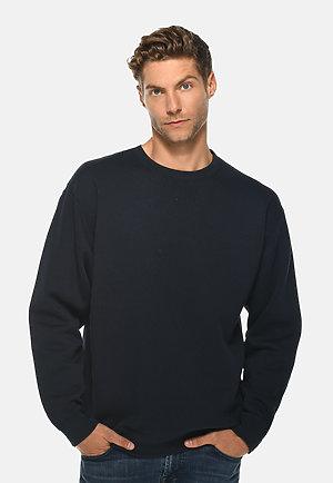 Premium Crewneck Sweatshirt NAVY BLUE front