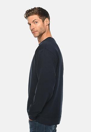Premium Crewneck Sweatshirt NAVY BLUE side