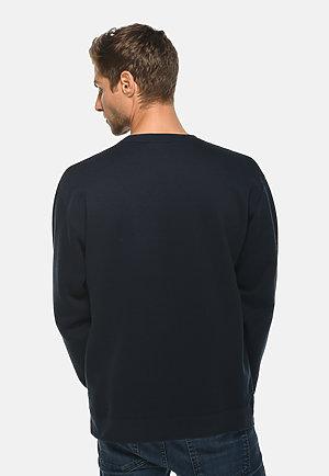Premium Crewneck Sweatshirt NAVY BLUE back