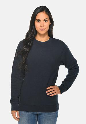 Premium Crewneck Sweatshirt NAVY BLUE frontw
