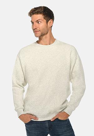 Premium Crewneck Sweatshirt OATMEAL HEATHER front