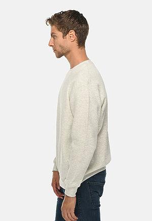 Premium Crewneck Sweatshirt OATMEAL HEATHER side