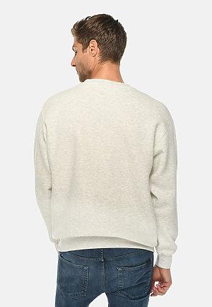 Premium Crewneck Sweatshirt OATMEAL HEATHER back