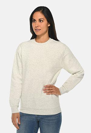 Premium Crewneck Sweatshirt OATMEAL HEATHER frontw