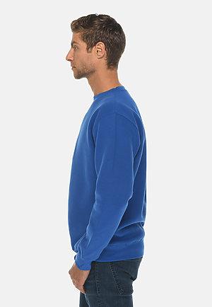 Premium Crewneck Sweatshirt TRUE ROYAL side