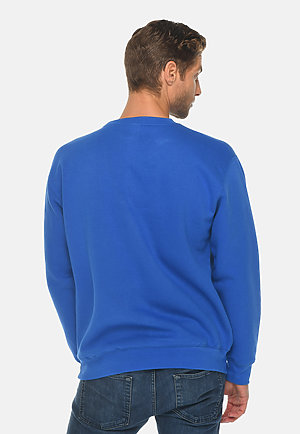 Premium Crewneck Sweatshirt TRUE ROYAL back