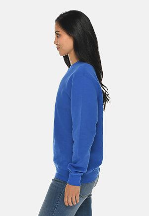 Premium Crewneck Sweatshirt TRUE ROYAL sidew