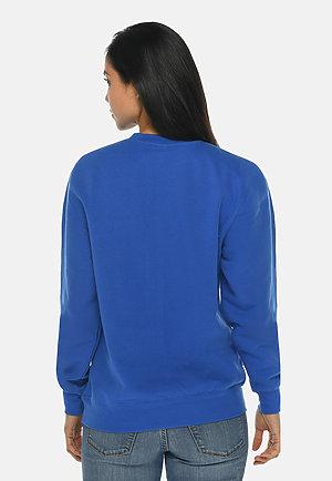 Premium Crewneck Sweatshirt TRUE ROYAL backw