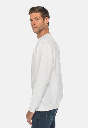 Premium Crewneck Sweatshirt WHITE side