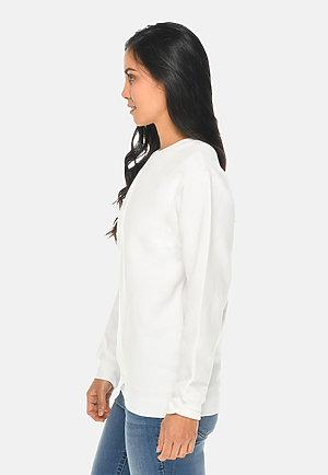 Premium Crewneck Sweatshirt WHITE sidew