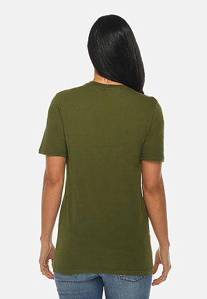 Deluxe Tee ARMY GRN backw