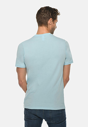 Deluxe Tee BLUE MIST back