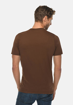Deluxe Tee CHESTNUT back