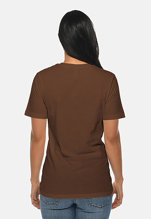 Deluxe Tee CHESTNUT backw