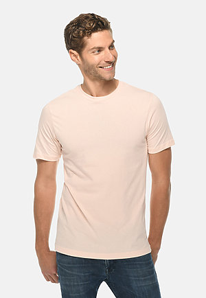 Deluxe Tee PALE PINK front