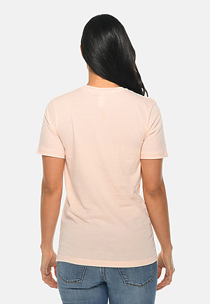 Deluxe Tee PALE PINK backw