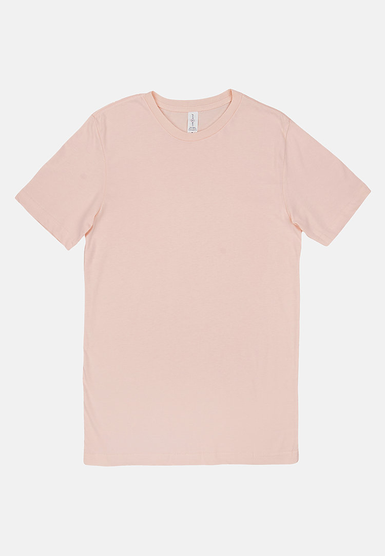 Deluxe Tee PALE PINK flat