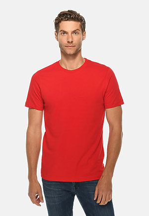 Deluxe Tee RED front