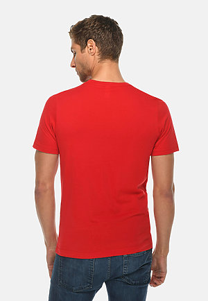 Deluxe Tee RED back
