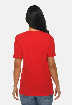 Deluxe Tee RED backw