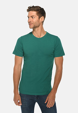 Deluxe Tee TEAL front