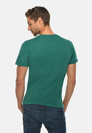 Deluxe Tee TEAL back