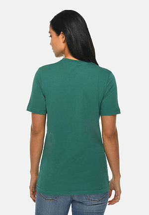 Deluxe Tee TEAL backw