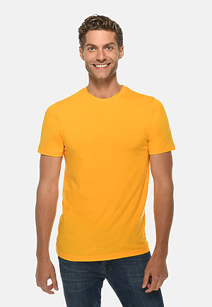 Deluxe Tee TAXI GOLD front