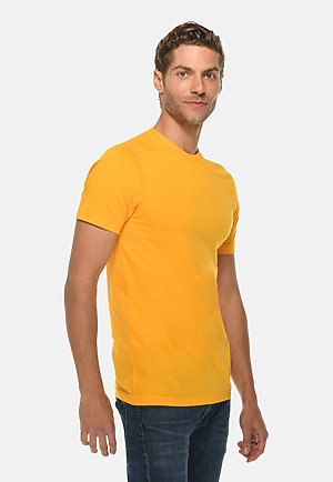 Deluxe Tee TAXI GOLD side