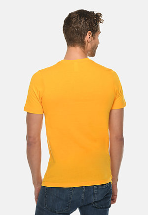 Deluxe Tee TAXI GOLD back
