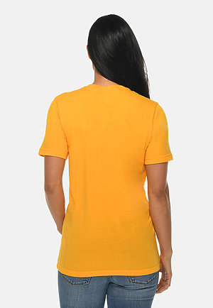 Deluxe Tee TAXI GOLD backw