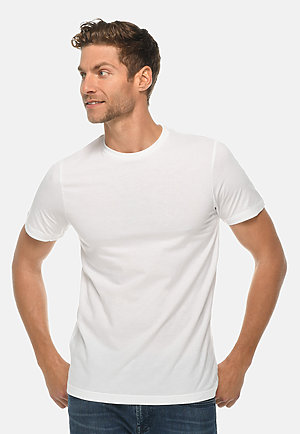 Deluxe Tee WHITE front